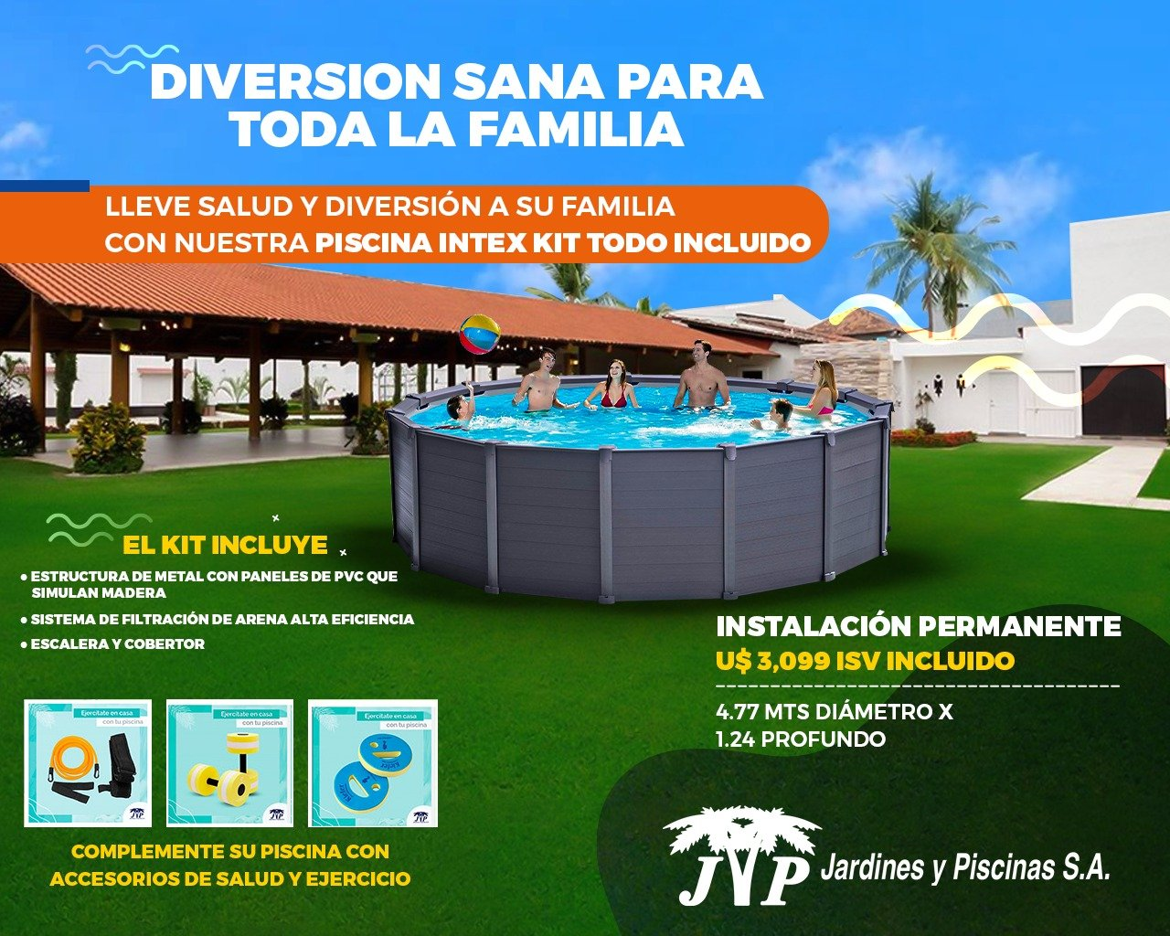 Piscina Intex Honduras